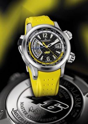 Jaeger Lecoultre_Master Compressor Extreme 46 Valentino Rossi jaune