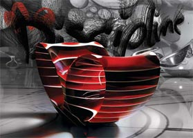 Ron_Arad_Oh_Void_Opus_Rouge