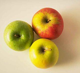 Pommes tricolores