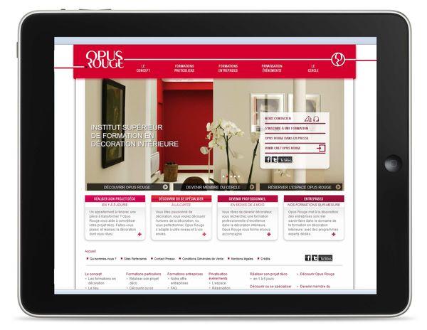 d corez vos r ves int rieurs opus rouge le blog. Black Bedroom Furniture Sets. Home Design Ideas