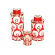 Pot-a-the-cloisonne-motif-eventail-rouge